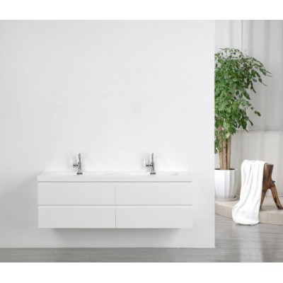 Waschbecken mit Unterschrank 160cm